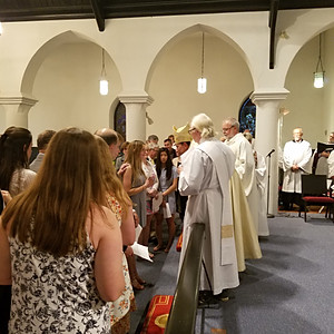 Confirmations & Receptions with the Bishop
