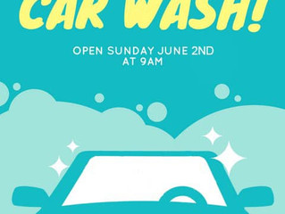 YOM Car Wash - This Sunday!