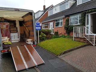 1 van move from Stafford to Burton