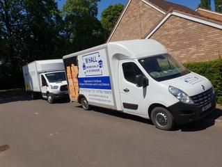 3 van move in stafford