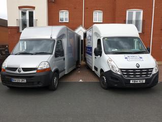 2 van removal in Stafford