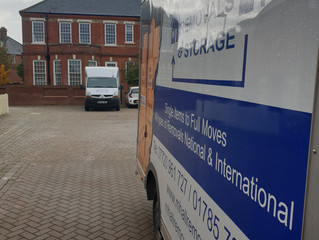 A 2 van removal we did From Stafford to Basingstoke
