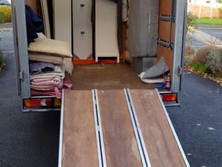 1 van move in newport
