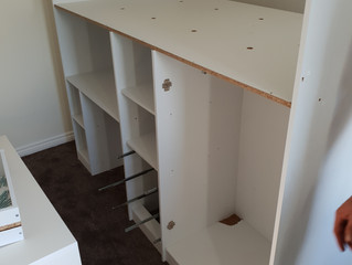 Removal to brand new house