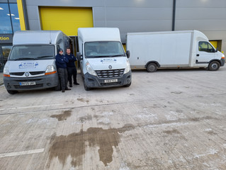 Large removal Stone -storage in Stafford