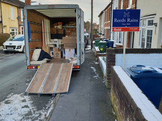 1 van removal from Stafford to Huddersfield