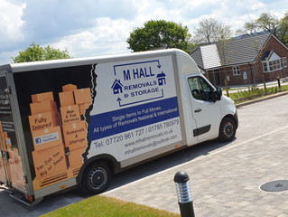 House removal in Stafford.