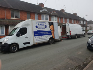 A removal to storage we did today