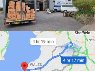 Removal from Stafford to Milford haven