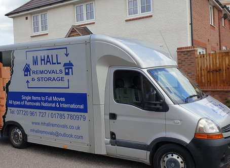 Removal today within stafford