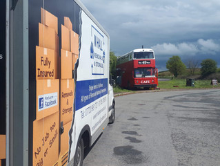 Removal from Gloucester to our storage