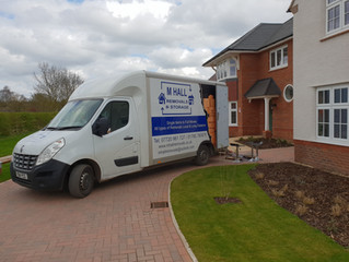 A 4 bed house removal we did today