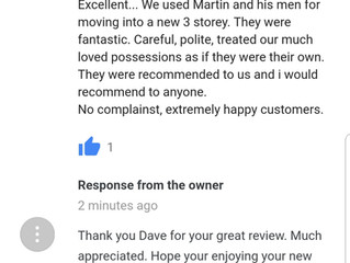 Another great review left