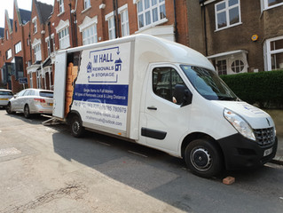 A removal we did to London yesterday