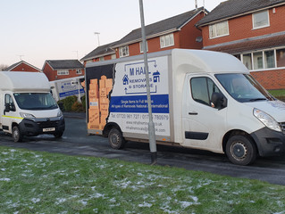 Large removal within Stoke on trent
