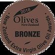 2018 Olives New Zealand Bronze Medal