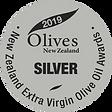 2019 Olives New Zealand Silver Medal