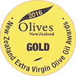 2016 Olives New Zealand Gold Medal
