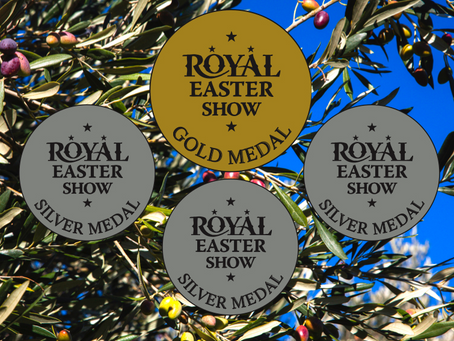 Gold and three silvers at the Royal Easter Show Awards 2019