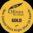2019 Olives New Zealand Gold Medal