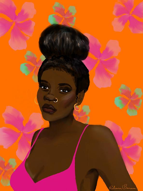 flowers and melanin