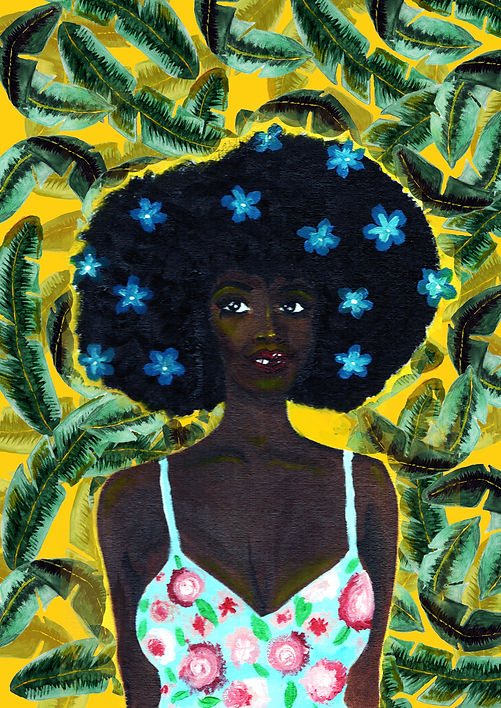 banana leaf afro girl.jpg