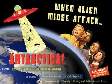 POSTER - When alien midge attack...Antarctica!