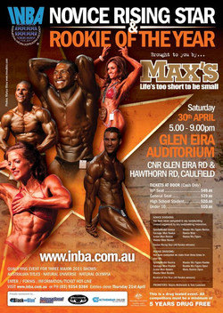 INBA poster