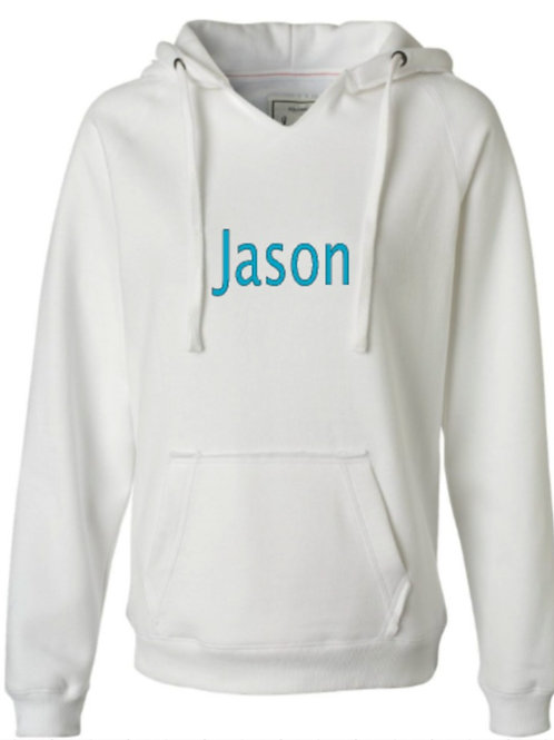 Personalized Hoodies for men and women.  Unisex. Made to order.