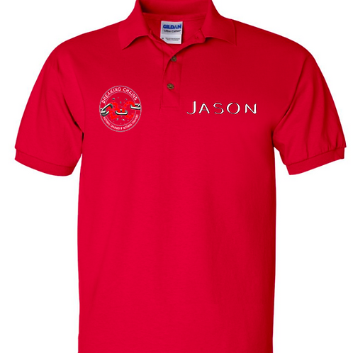 Unisex Polos great for Work, Reunions & Sports Teams