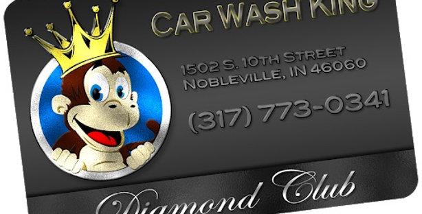12 Month Diamond Car Wash Club Membership