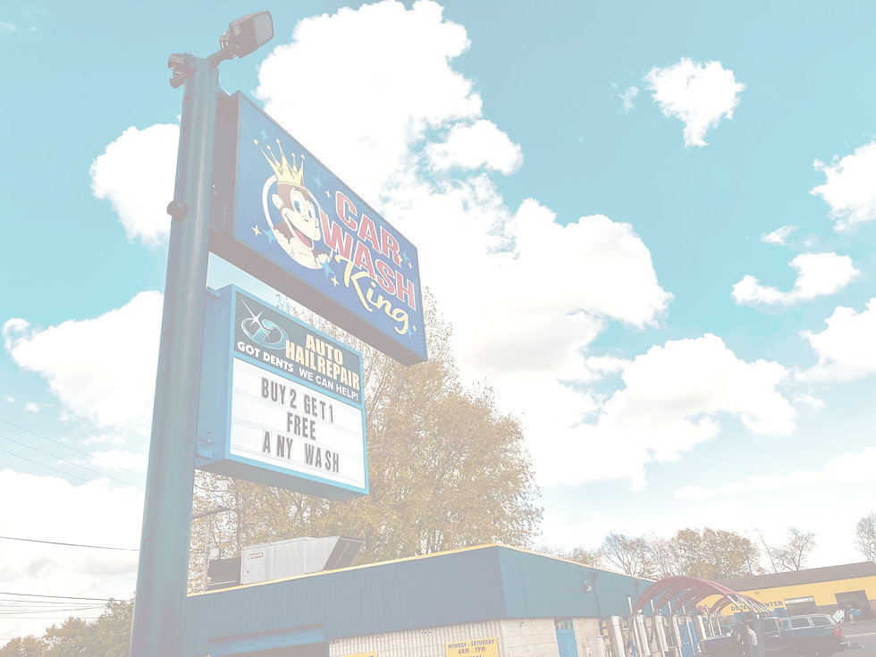 Never miss us when you're looking for the monkey king!! Car Wash King is on S 10th St. in Noblesville,  IN.