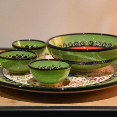 Nimet Set GR bord 30 + 3 minibowls + 1 bowl
