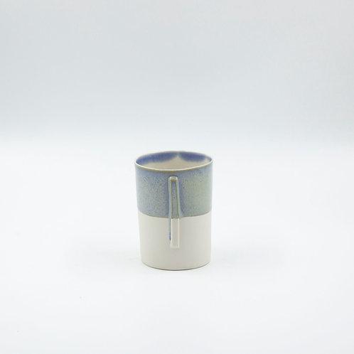 porselen kupa  - circle cross xl  light blue 280-300 ml
