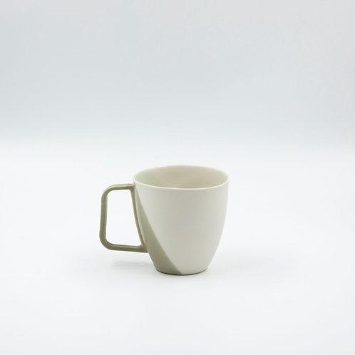 porselen kupa  - classic cross xl  green 280-300 ml