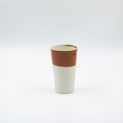 porselen bardak - conic xl rust 280-300 ml