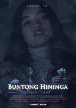 BUNTONG HININGA POSTER