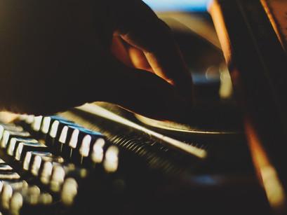 THE ORANGE TYPEWRITER