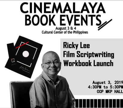 Cinemalaya Book Events at the CCP!
