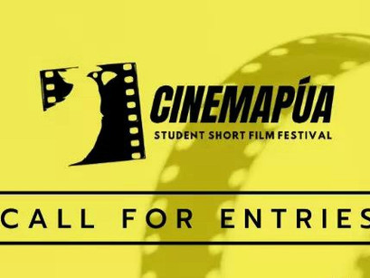 Call for Entries: CINEMAPÚA Student Short Film Festival '21