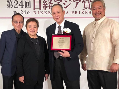 CINEMALAYA RECEIVES NIKKEI ASIA PRIZE