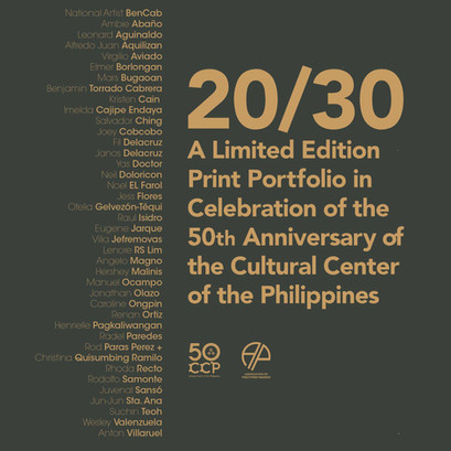 20/30 Limited Edition Print Portfolio to mark CCP's 50th Anniversary closing