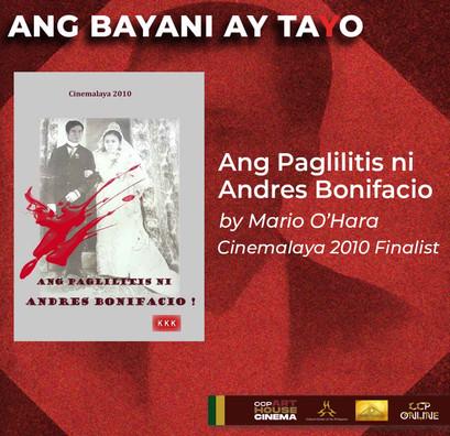 CCP Arthouse Cinema Online celebrates heroism in Ang Bayani ay Ta(y)o film screenings