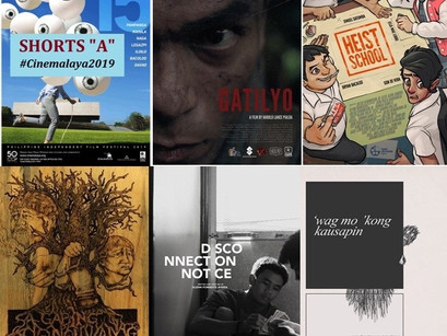 CINEMALAYA ANNOUNCES FINALISTS FOR SHORT FILM CATEGORY