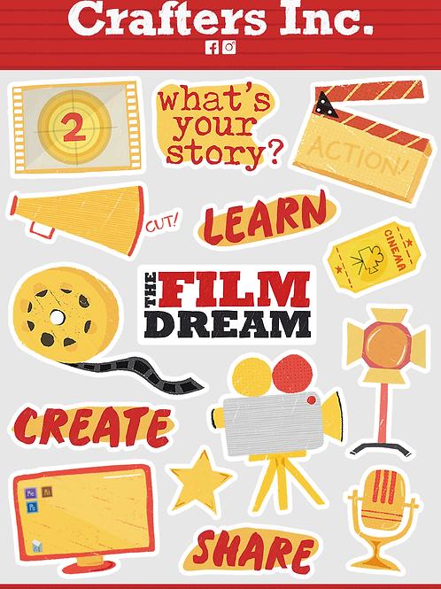 The Film Dream Sticker Sheet