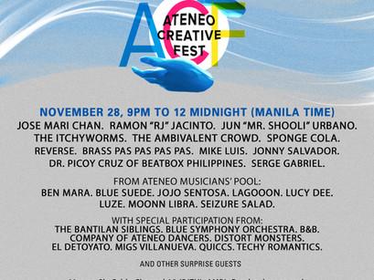 The Ateneo Creative Fest: A Celebration of Atenean Artistry