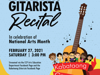 Kabataang Gitarista Regales with a Special Recital this Arts Month