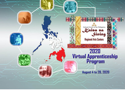CCP KAISA NG SINING SUCCESSFULLY CONCLUDES THE 2020 VIRTUAL APPRENTICESHIP PROGRAM