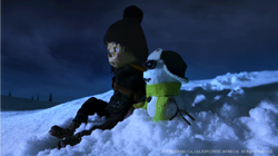 Norman the Snowman: On a Night of Shootin