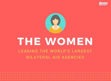 Conoce las mujeres que están detrás de las principales agencias de cooperación